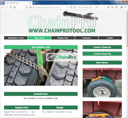 Tire Chain Tool